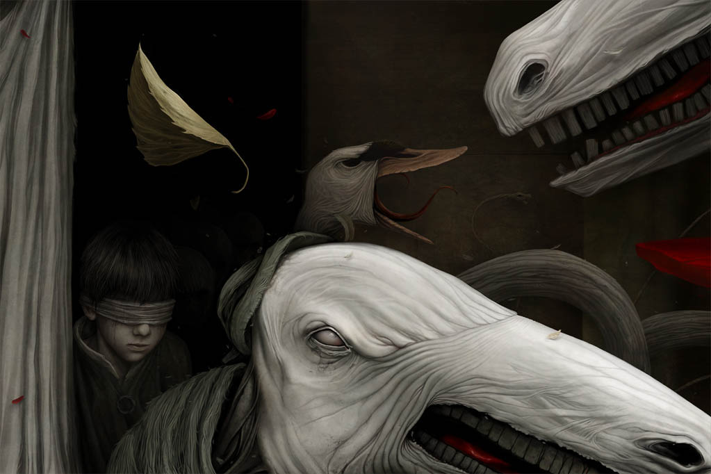 Gloom: Scary paintings by a Russian artist Anton Semenov - 30