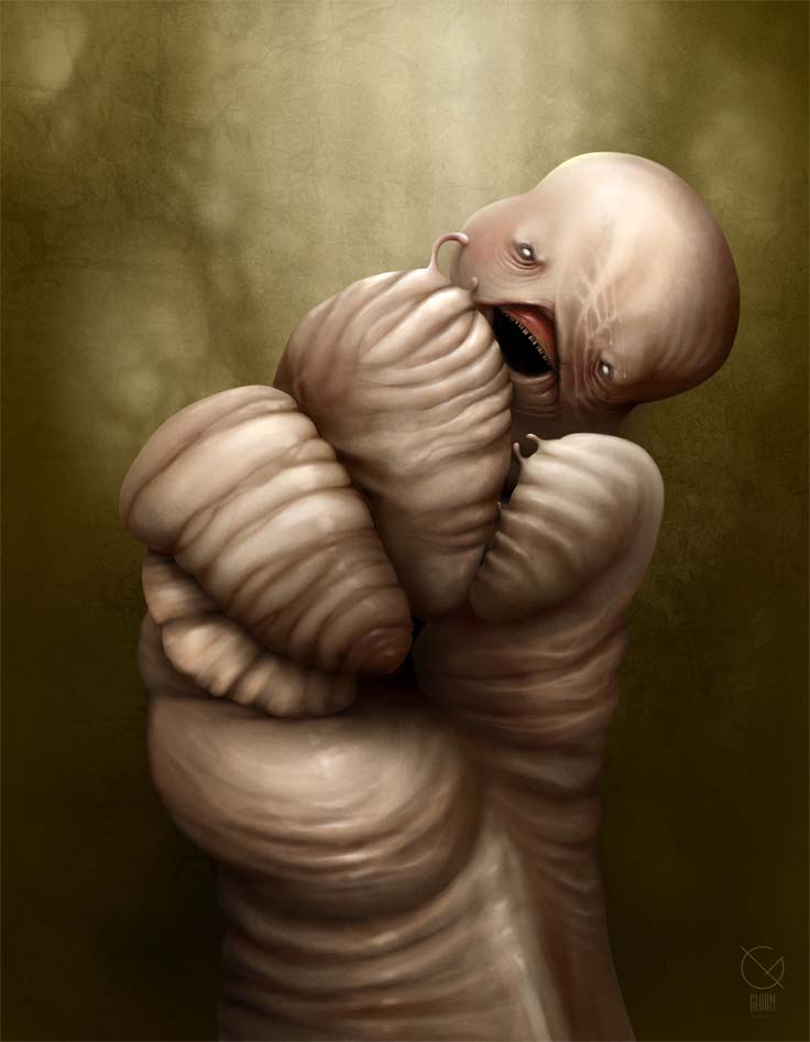 Gloom: Scary paintings by a Russian artist Anton Semenov - 04