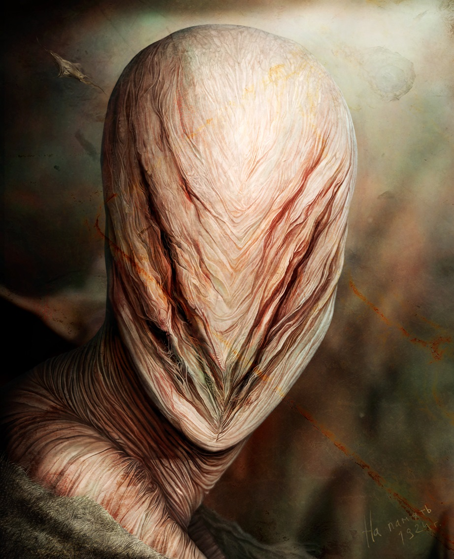 Gloom: Scary paintings by a Russian artist Anton Semenov - 46