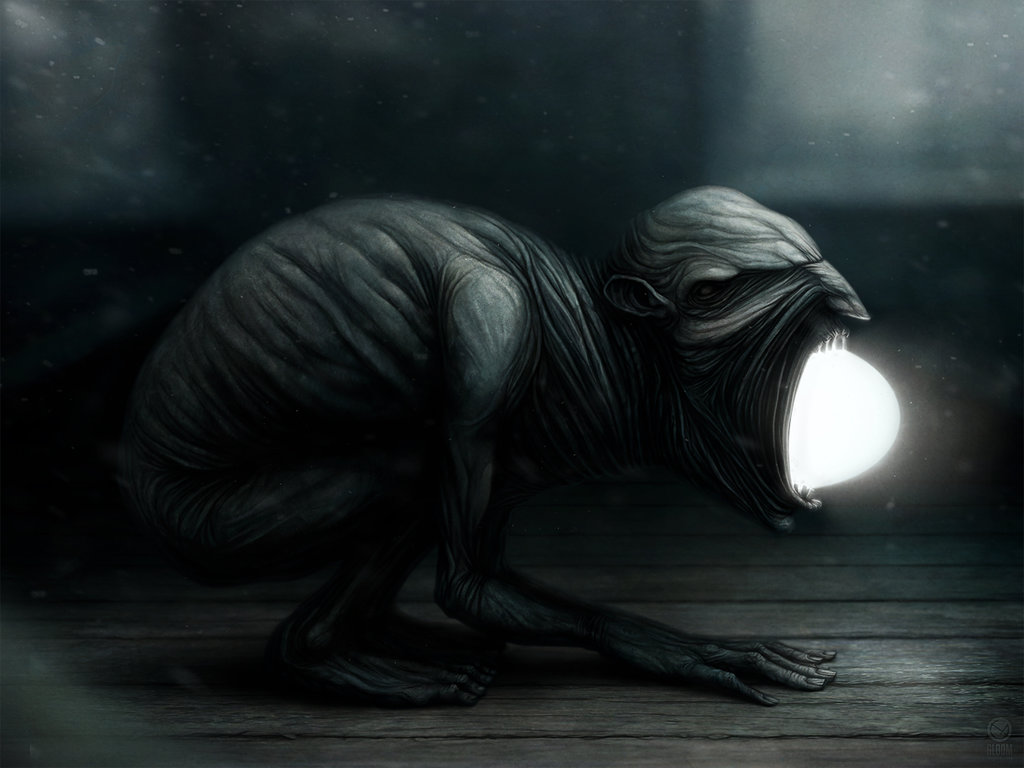 Gloom: Scary paintings by a Russian artist Anton Semenov - 55