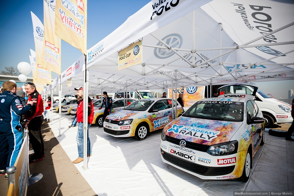 Photo report from the Rally Masters Show 2014 in Moscow - 01