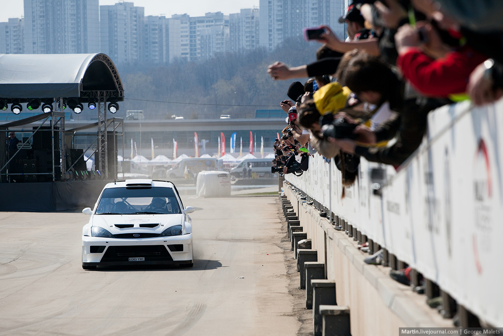 Photo report from the Rally Masters Show 2014 in Moscow - 15