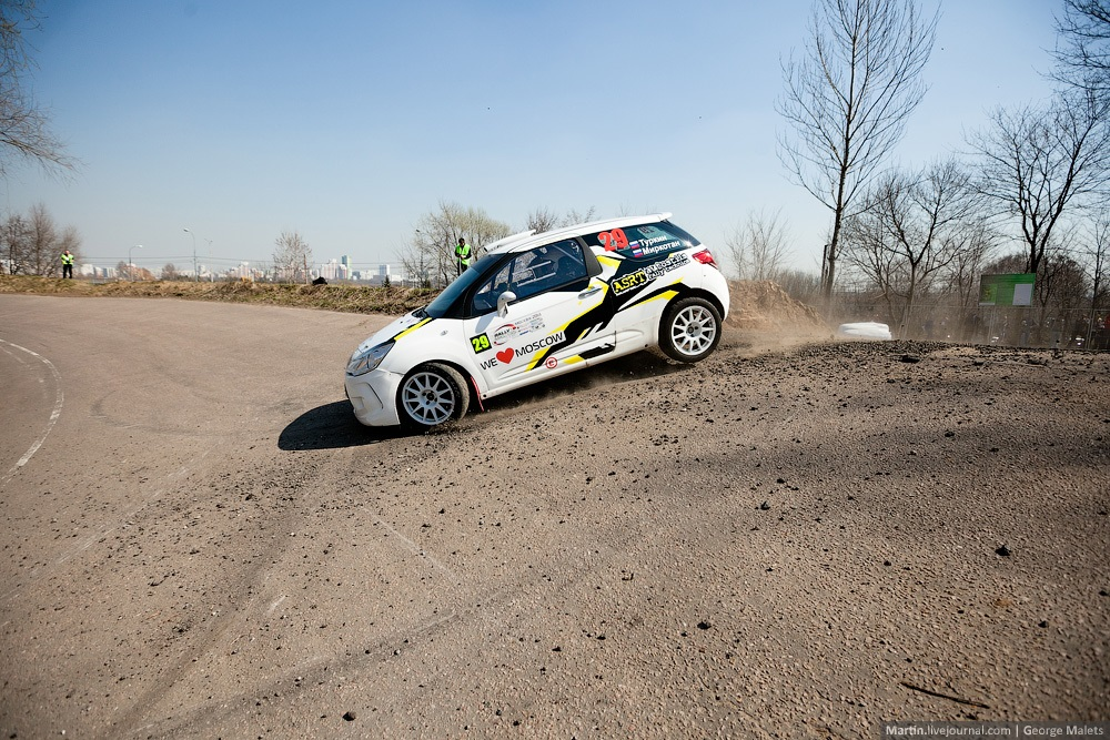 Photo report from the Rally Masters Show 2014 in Moscow - 17