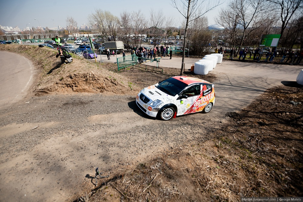Photo report from the Rally Masters Show 2014 in Moscow - 24