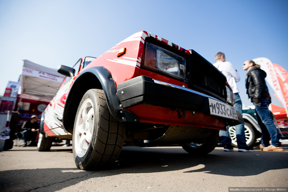 Photo report from the Rally Masters Show 2014 in Moscow - 08