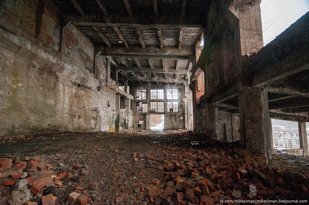 Ruins of abandoned Mining and Processing Plant Khrustalnensky - 12