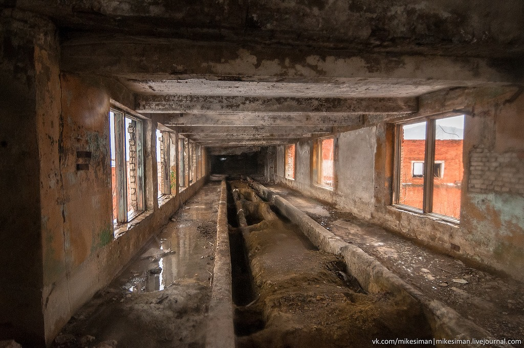 Ruins of abandoned Mining and Processing Plant Khrustalnensky - 16