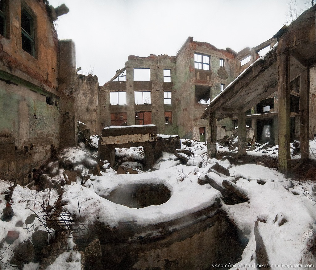 Ruins of abandoned Mining and Processing Plant Khrustalnensky - 19