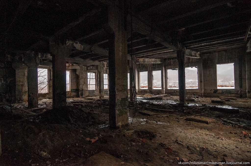 Ruins of abandoned Mining and Processing Plant Khrustalnensky - 05