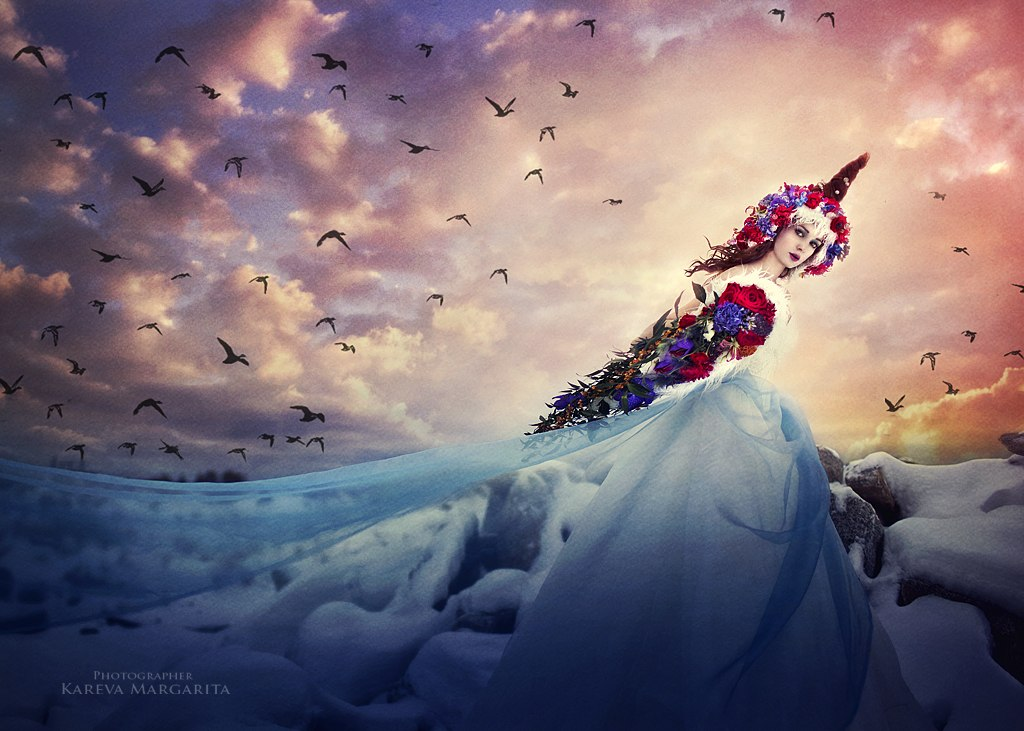 Magic women's worlds by Russian photographer Margarita Kareva - 59