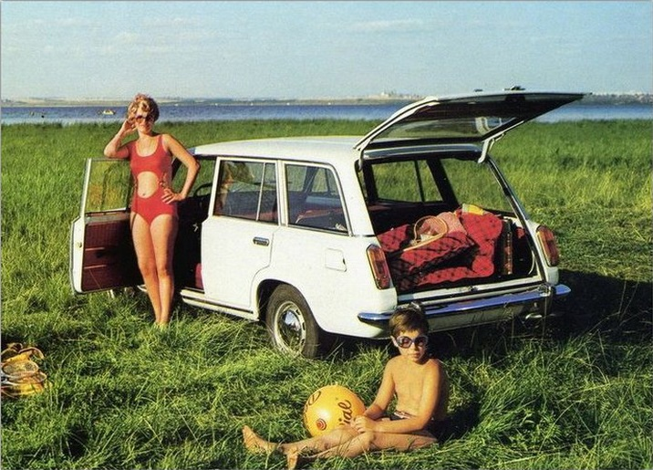 Advertising posters of Soviet cars VAZ (Lada) - 13