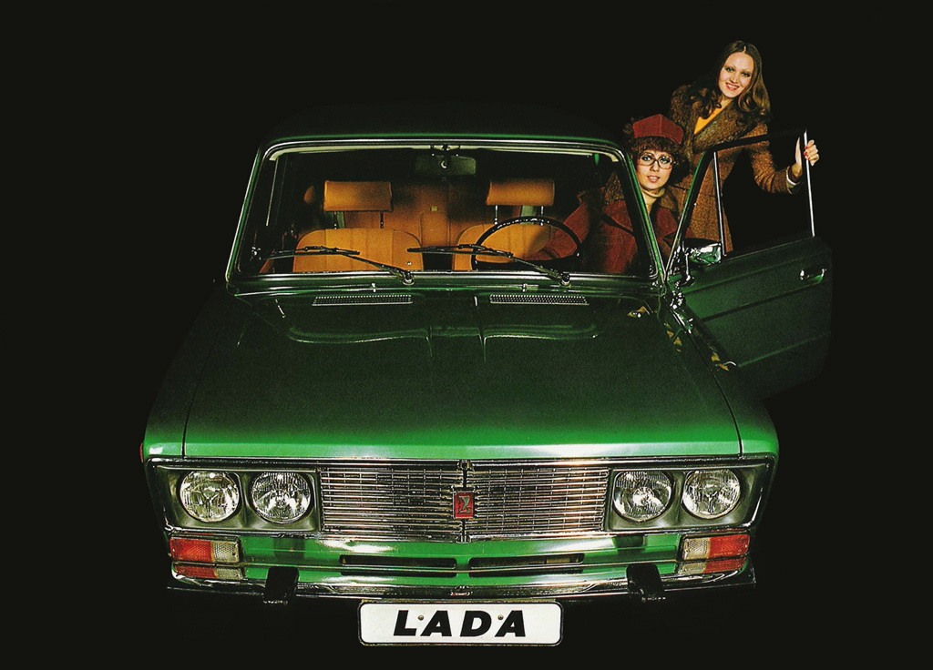 Advertising posters of Soviet cars VAZ (Lada) - 18