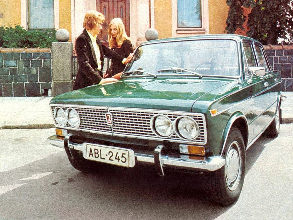Advertising posters of Soviet cars VAZ (Lada) - 22