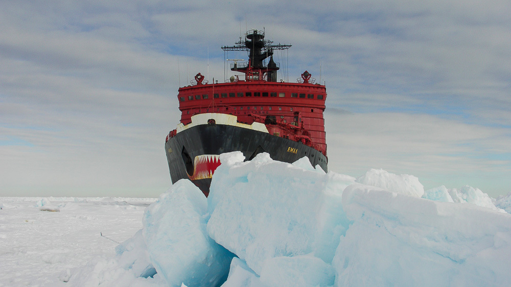 Breaking the ice: Russian nuclear powered icebreaker Yamal - 06