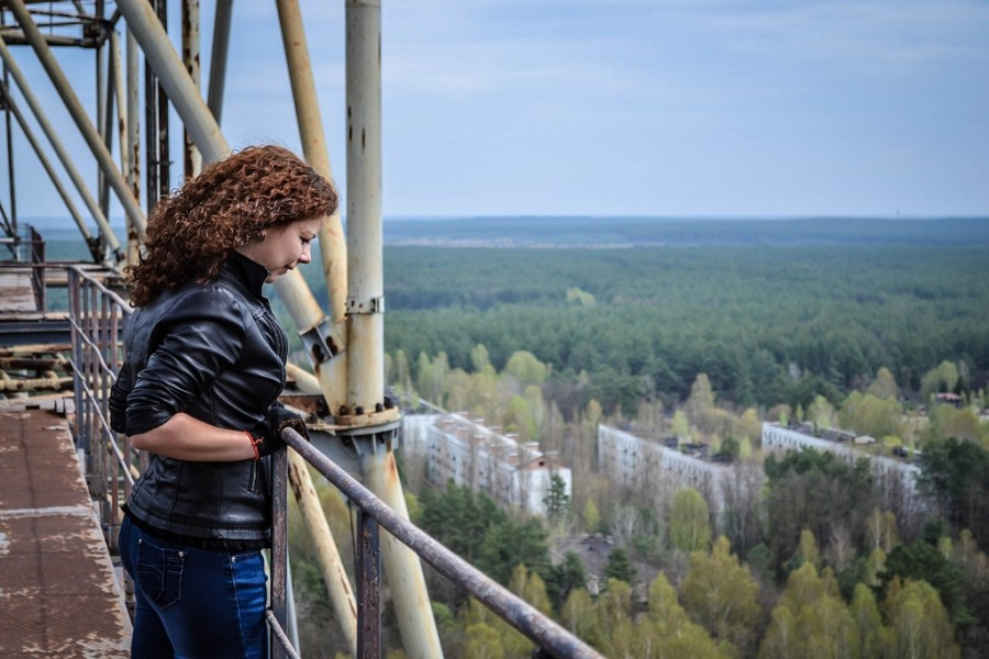 Climbing on Soviet over-the-horizon radar system Duga in Chernobyl - 15