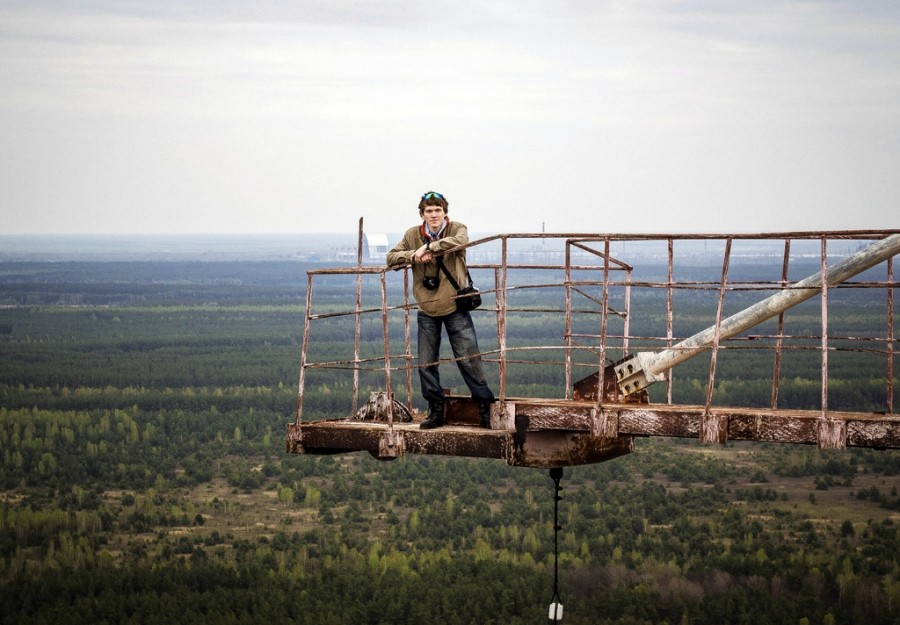 Climbing on Soviet over-the-horizon radar system Duga in Chernobyl - 20
