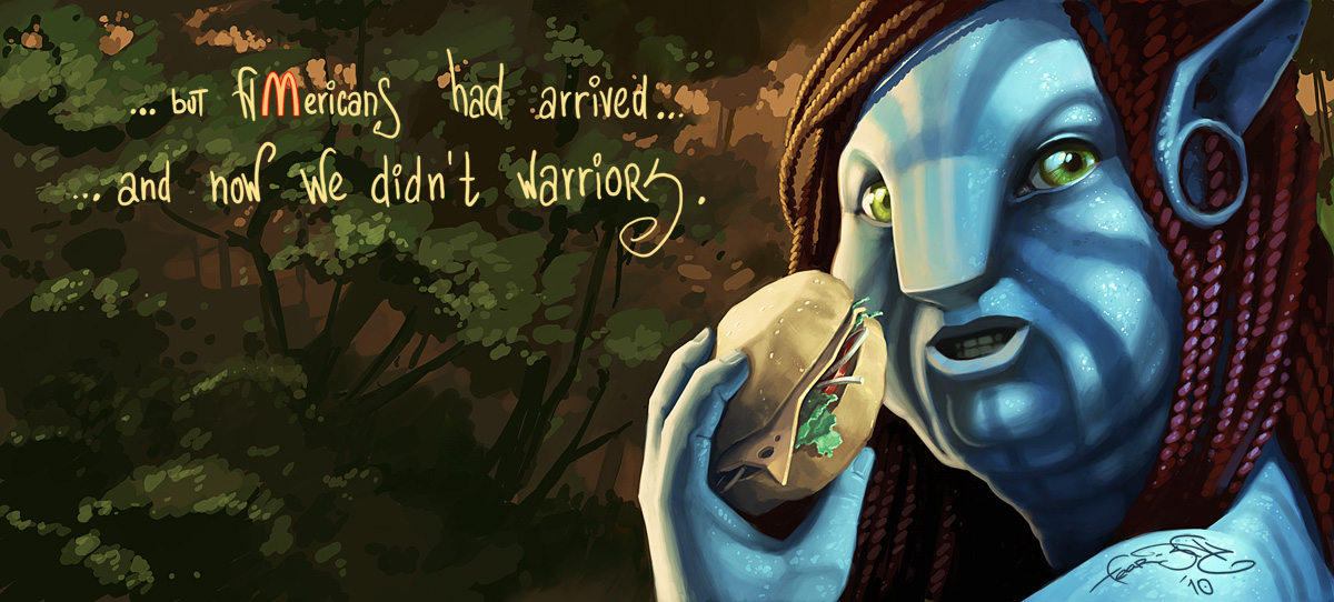 Avatar and McDonalds