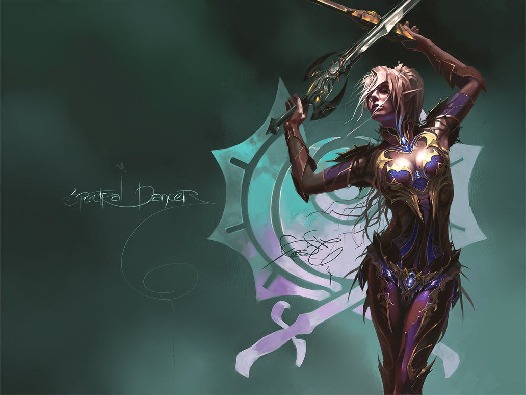 Spectral Dancer Wallpaper