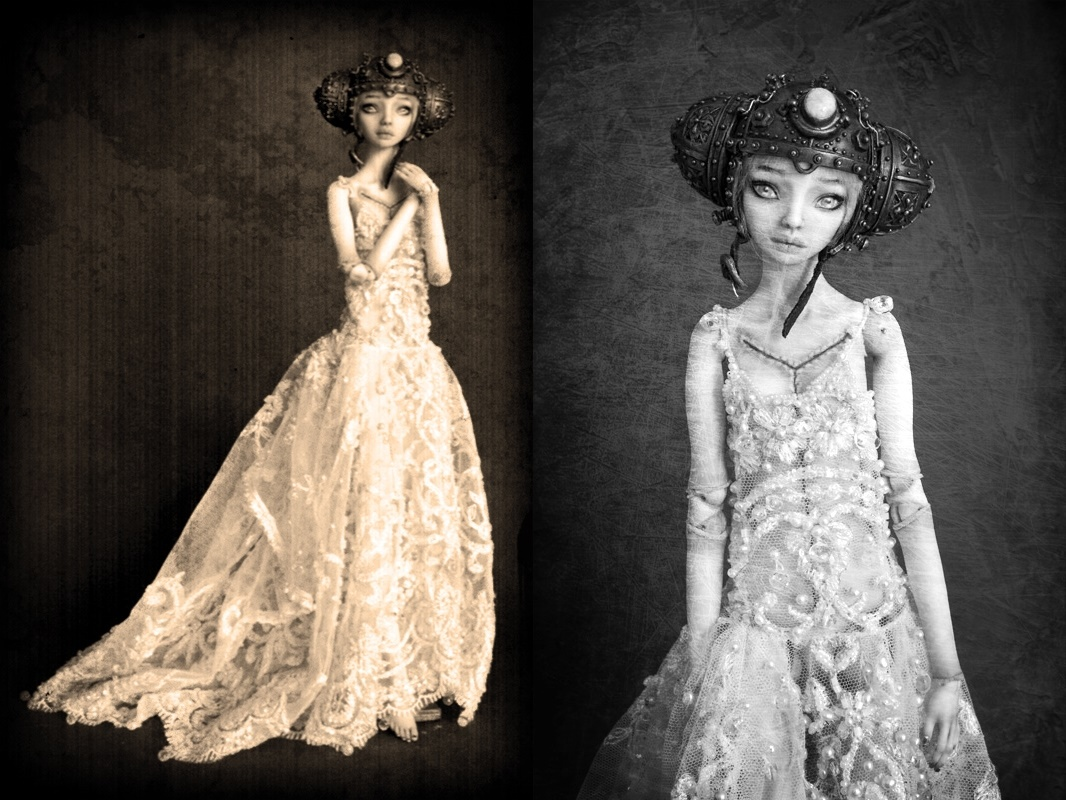 It is not the world of smiles: Enchanted Dolls by Marina Bychkova - 10