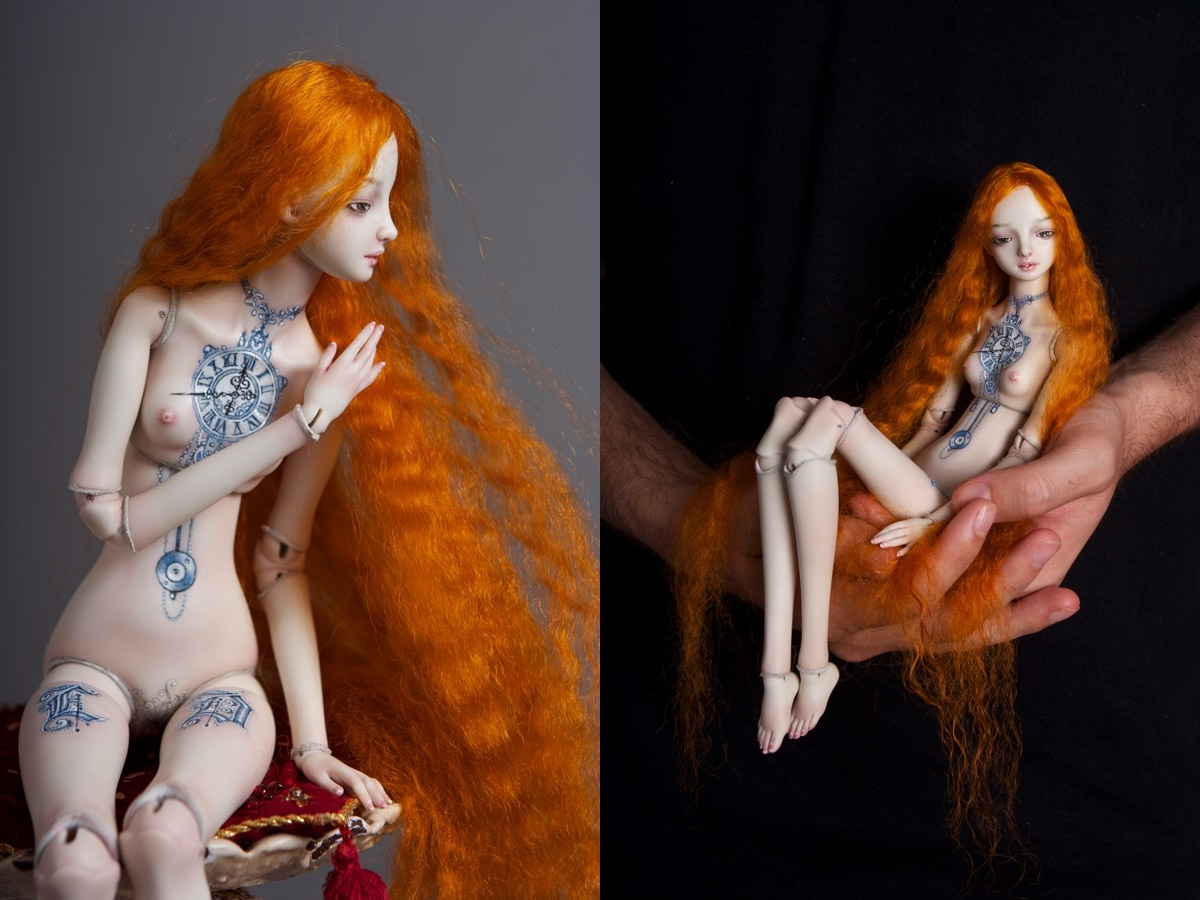 It is not the world of smiles: Enchanted Dolls by Marina Bychkova - 23