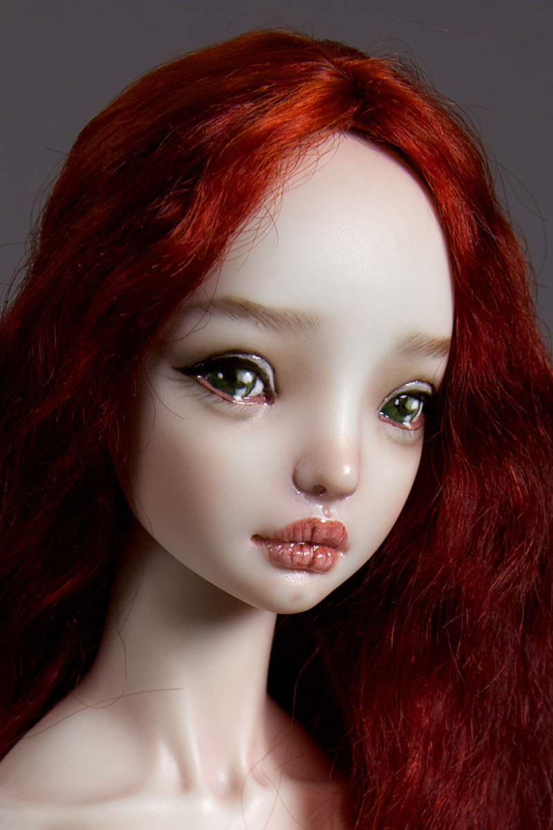 It is not the world of smiles: Enchanted Dolls by Marina Bychkova - 27
