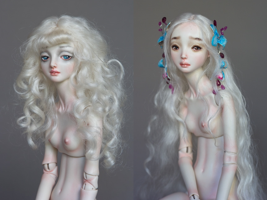 It is not the world of smiles: Enchanted Dolls by Marina Bychkova - 29