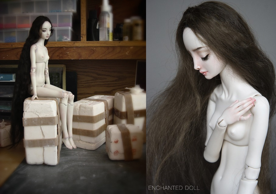 It is not the world of smiles: Enchanted Dolls by Marina Bychkova - 32