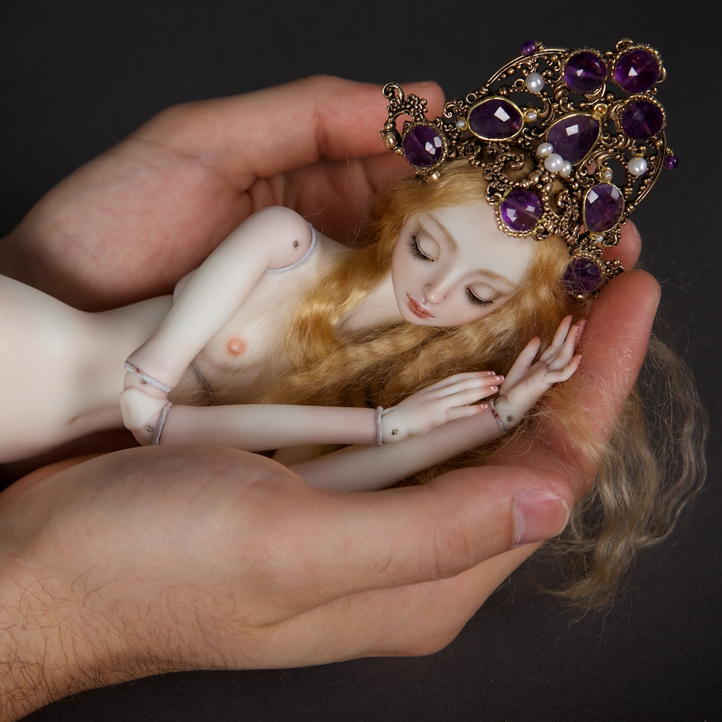 It is not the world of smiles: Enchanted Dolls by Marina Bychkova - 05