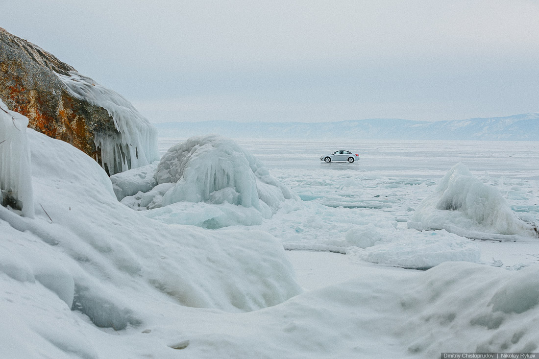 Lake Baikal and Olkhon Island: Wonderful ice world of cold Siberia - 24