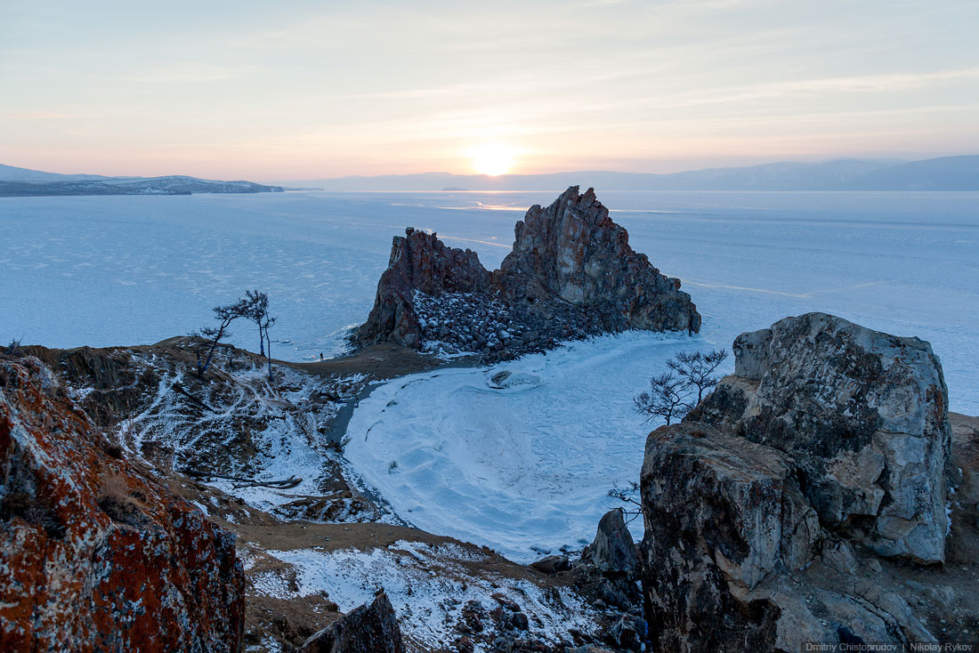 Lake Baikal and Olkhon Island: Wonderful ice world of cold Siberia - 33