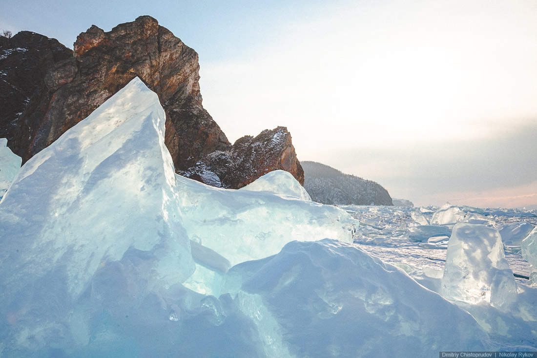 Lake Baikal and Olkhon Island: Wonderful ice world of cold Siberia - 41