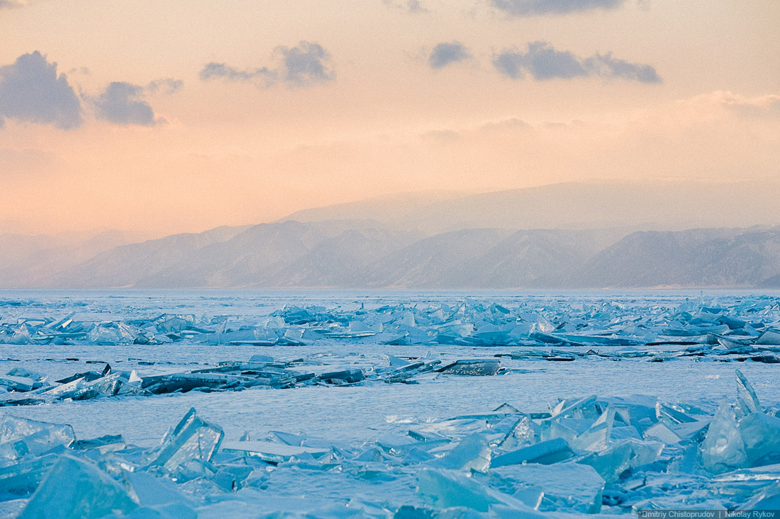 Lake Baikal and Olkhon Island: Wonderful ice world of cold Siberia - 43