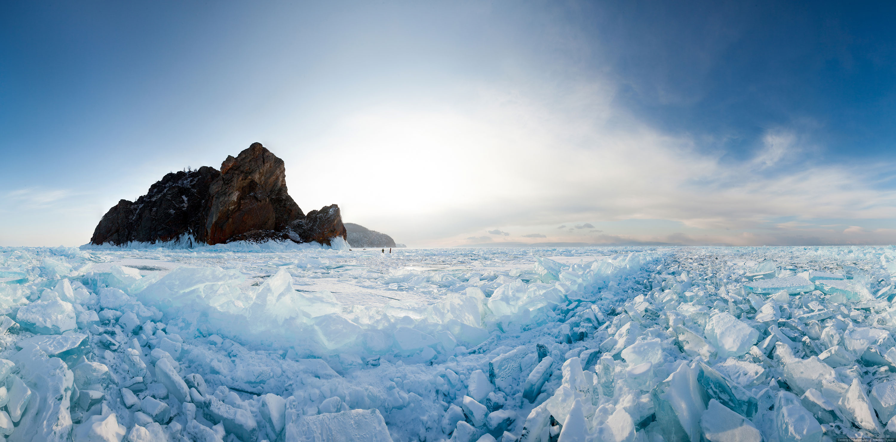 Lake Baikal and Olkhon Island: Wonderful ice world of cold Siberia - 46