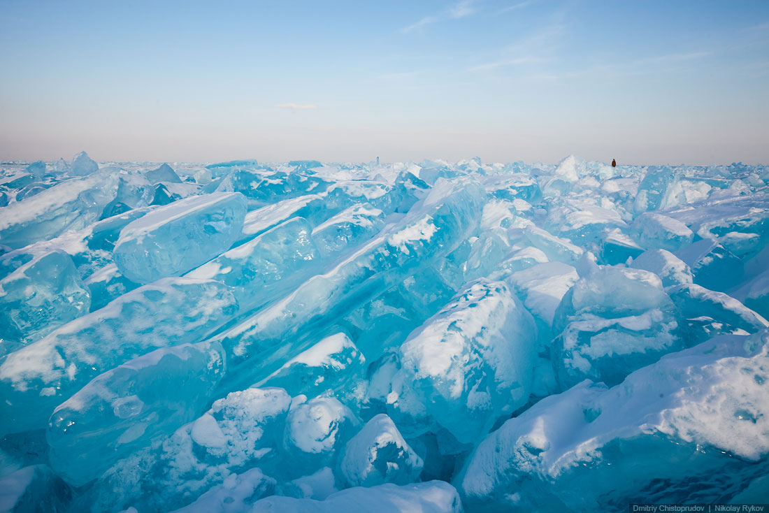 Lake Baikal and Olkhon Island: Wonderful ice world of cold Siberia - 47