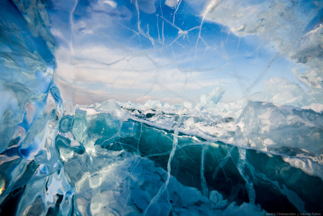 Lake Baikal and Olkhon Island: Wonderful ice world of cold Siberia - 49
