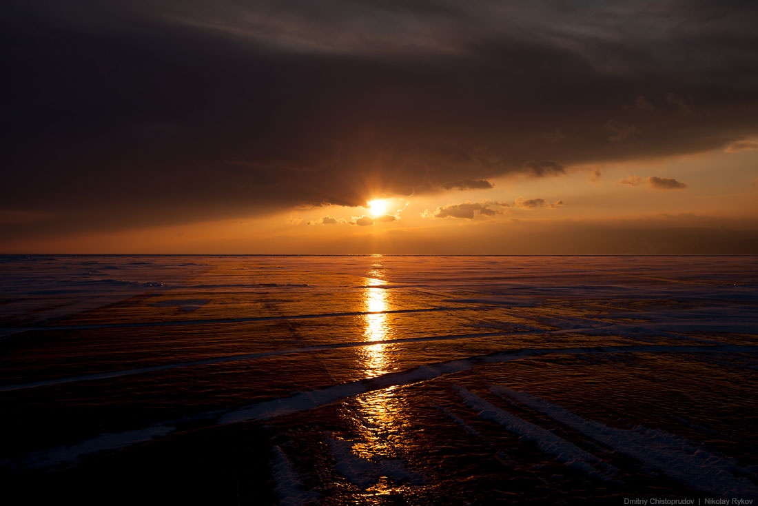 Lake Baikal and Olkhon Island: Wonderful ice world of cold Siberia - 59