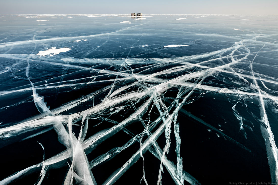 Lake Baikal and Olkhon Island: Wonderful ice world of cold Siberia - 62