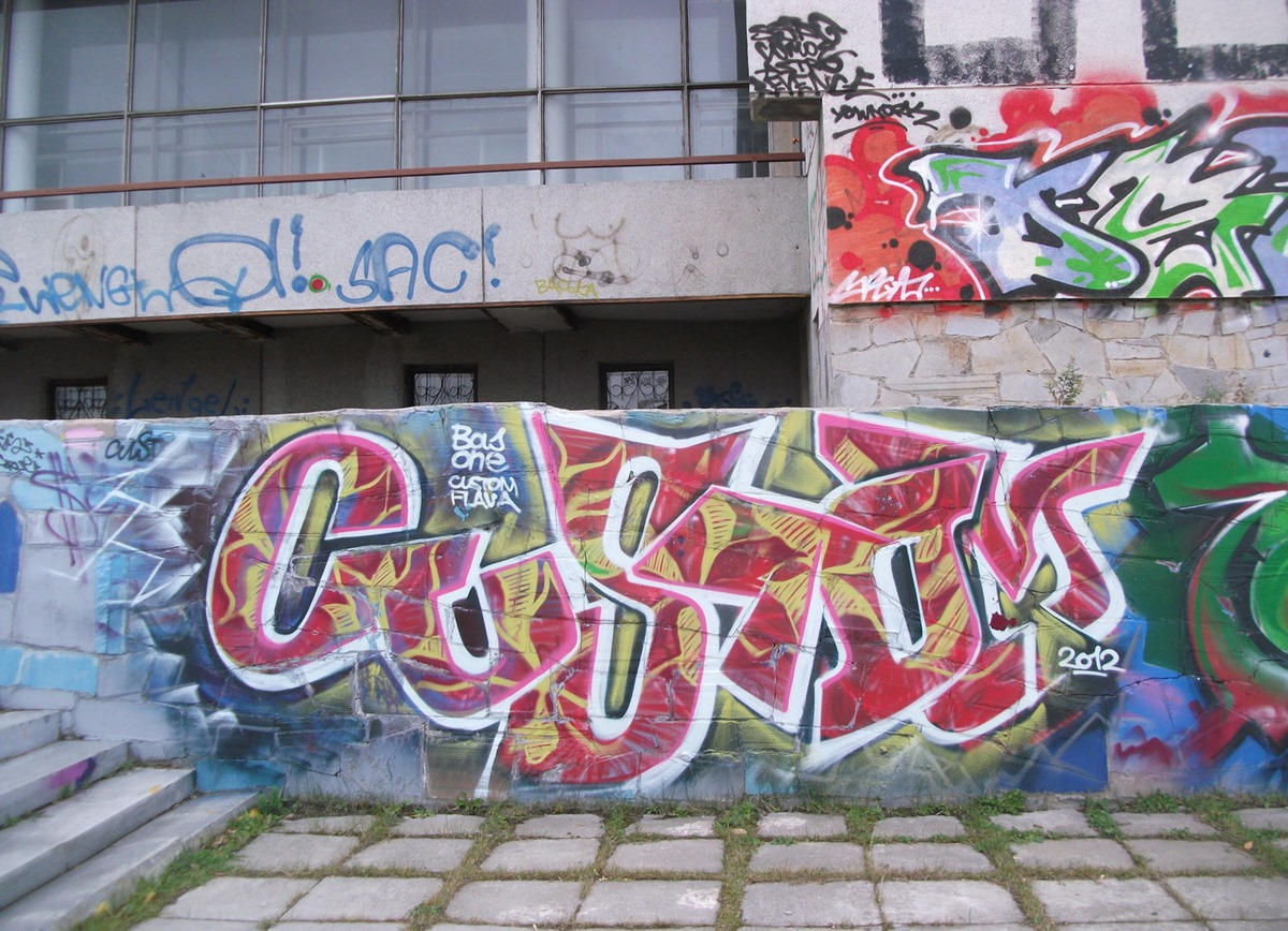 National creativity: Street art and graffiti in the city of Yekaterinburg - 26