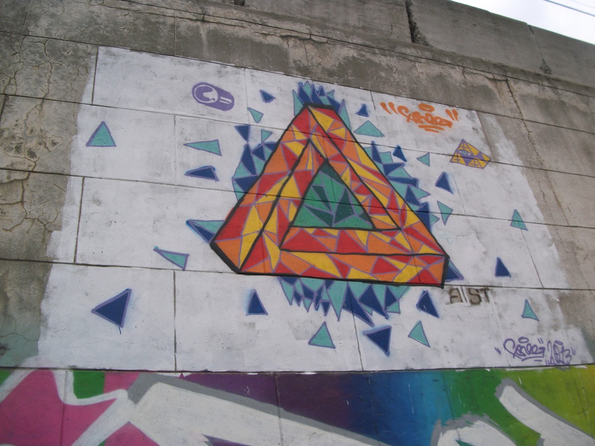 National creativity: Street art and graffiti in the city of Yekaterinburg - 30