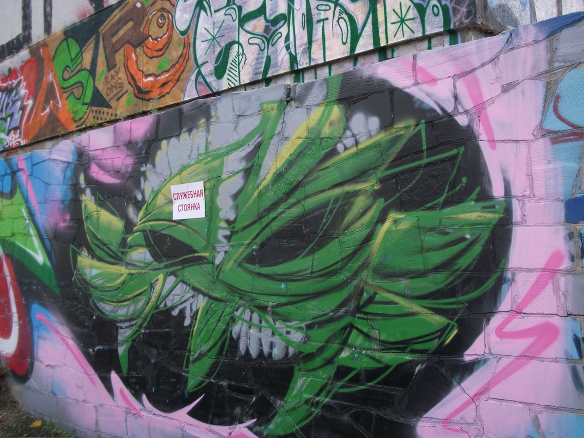 National creativity: Street art and graffiti in the city of Yekaterinburg - 04