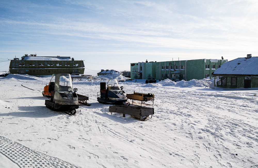 Unique technics and vehicles of the work settlement of Dikson - 20