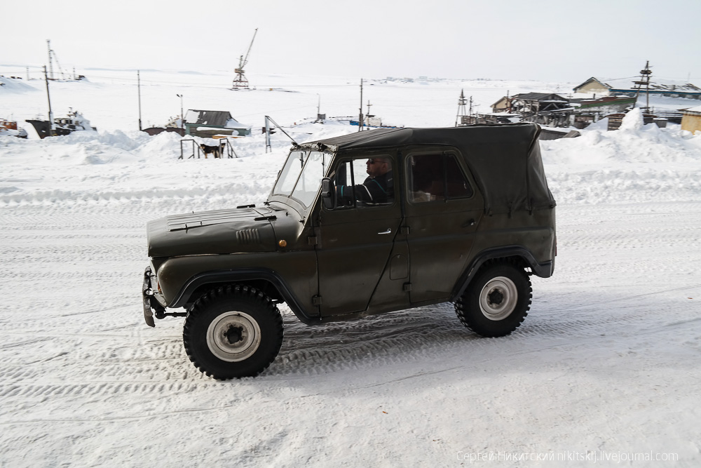 Unique technics and vehicles of the work settlement of Dikson - 26