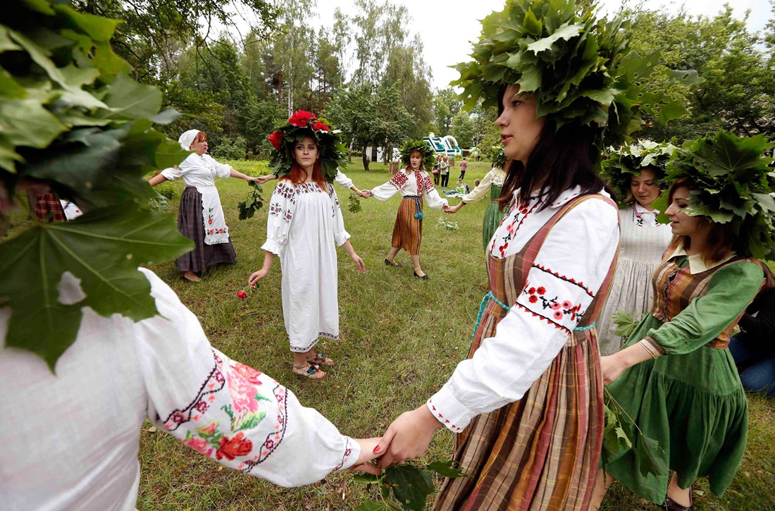 Belarusian mermaids: Slavic festival in the Republic of Belarus - 12