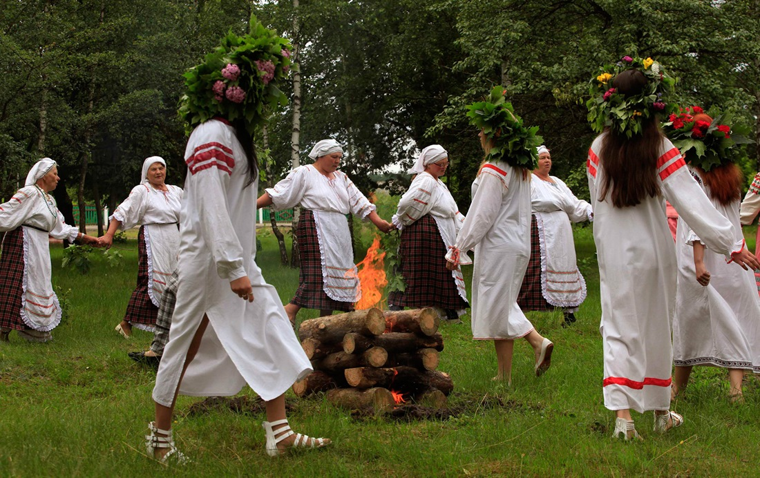 Belarusian mermaids: Slavic festival in the Republic of Belarus - 13