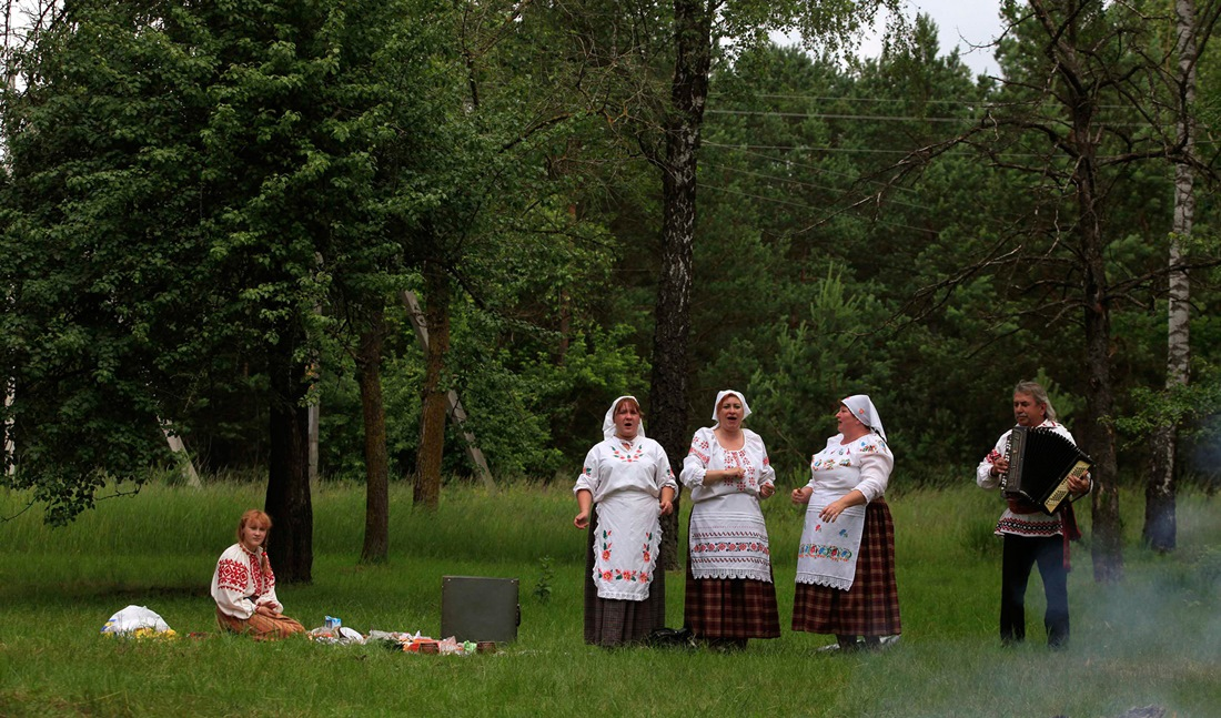 Belarusian mermaids: Slavic festival in the Republic of Belarus - 15