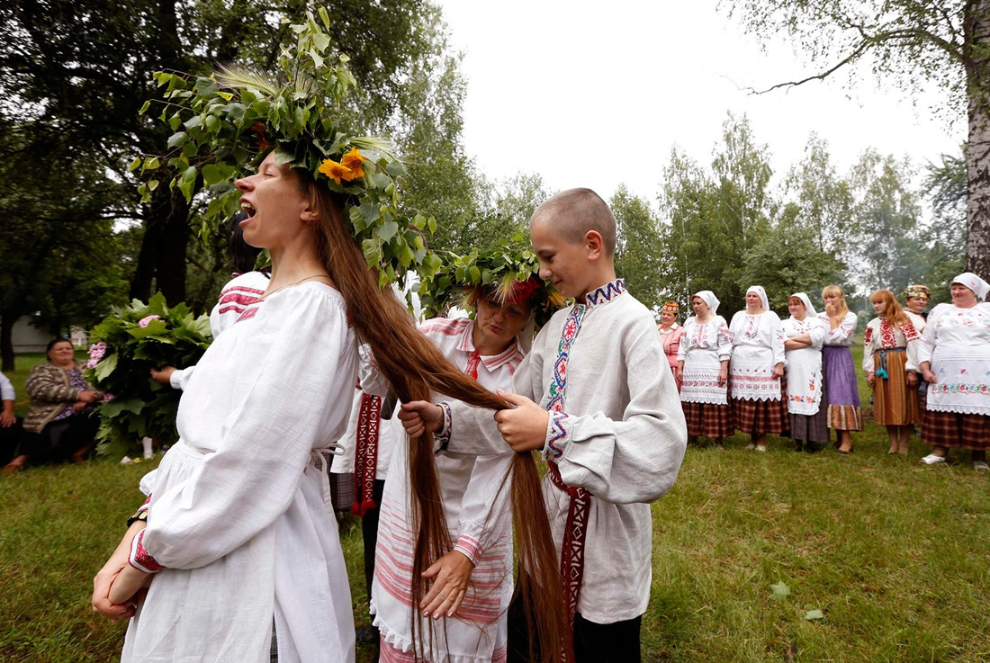 Belarusian mermaids: Slavic festival in the Republic of Belarus - 02