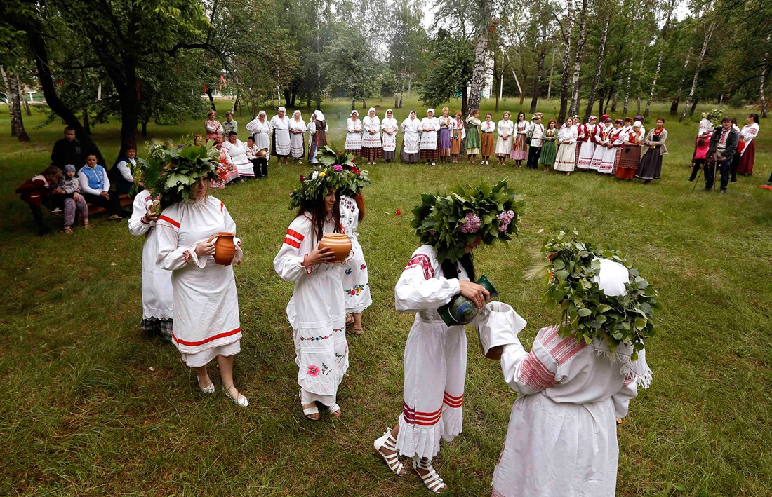 Belarusian mermaids: Slavic festival in the Republic of Belarus - 03