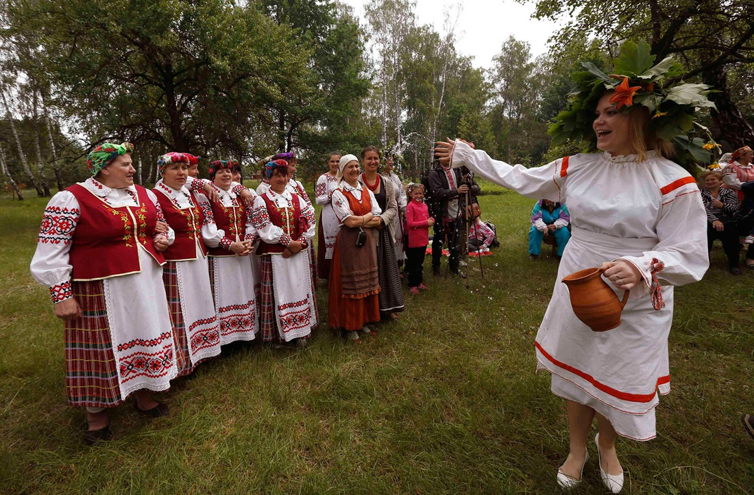 Belarusian mermaids: Slavic festival in the Republic of Belarus - 04