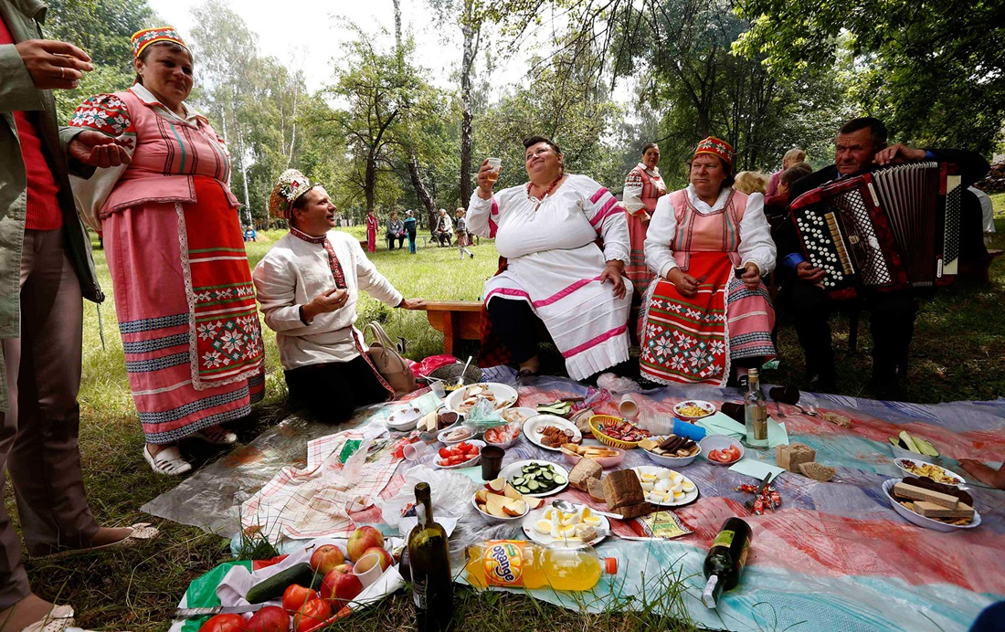 Belarusian mermaids: Slavic festival in the Republic of Belarus - 09