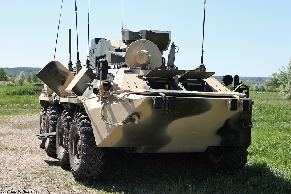 BPDM Typhoon-M: Russian counter-sabotage combat vehicle - 02